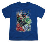 Youth: DC Comics New 52 - Justice League 1 T-shirts