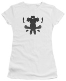 Juniors: Watchmen - Rorschach Face T-Shirt
