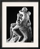 Rodin: The Kiss, 1886 Framed Photographic Print by Auguste Rodin