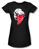 Juniors: Marilyn Monroe - Red Bandana T-Shirt