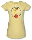 Juniors: Chicquita Banana - Miss Chiquita T-Shirt