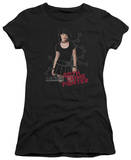 Juniors: NCIS - Goth Crime Fighter T-Shirt