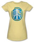 Juniors: Chicquita Banana - Rib Cage Sticker T-Shirt