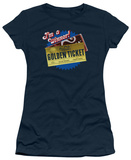 Juniors: Charlie and the Chocolate Factory - Golden Ticket Shirts
