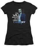 Juniors: CSI New York - You Will Answer T-Shirt