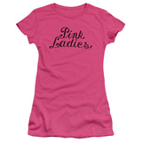 Juniors: Grease - Pink Ladies Logo T-shirts