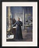 Marie Curie (1867-1934) Framed Photographic Print