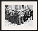 Depression: Harlem, 1931 Framed Photographic Print