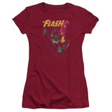 Juniors: The Flash - Flash Spray T-Shirt