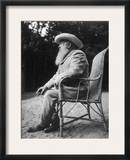 Claude Monet (1840-1926) Framed Photographic Print by Sacha Guitry