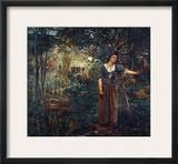 Joan Of Arc (C1412-1431) Framed Giclee Print by Jules Bastien-Lepage