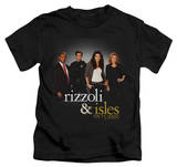 Youth: Rizzoli & Isles - R&I Cast T-shirts