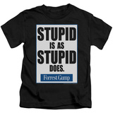Youth: Forrest Gump - Stupid Is T-Shirt