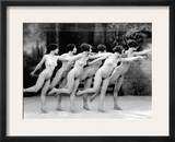 Allen: Chorus Line, 1920 Framed Photographic Print by Albert Arthur Allen