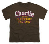 Youth: Charlie and the Chocolate Factory - Logo Shirts