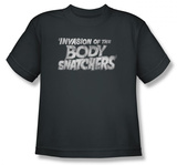 Youth: Invasion of the Body Snatchers - Distressed Logo Shirts