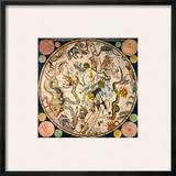 Celestial Hemisphere, 1790 Framed Giclee Print by James Barlow