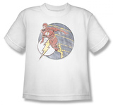 Youth: The Flash - Retro Flash Iron On Shirts