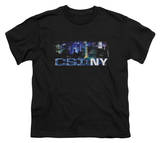 Youth: CSI New York - NY Never Rests T-shirts