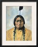 Sitting Bull (1834-1890) Framed Photographic Print by D. F. Barry