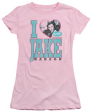 Juniors: Melrose Place - I Heart Jake Hanson T-shirts