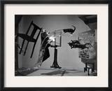 Salvador Dali (1904-1989) Framed Photographic Print by Philippe Halsman