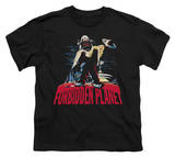 Youth: Forbidden Planet - Robby and Woman T-shirts