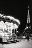 Paris Tower And Carousel Print