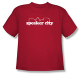 Youth: Old School - Speaker City Shirts