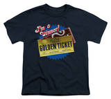 Youth: Charlie and the Chocolate Factory - Golden Ticket T-Shirt