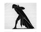 Hamlet (woodcut) Giclee Print by Edward Gordon Craig