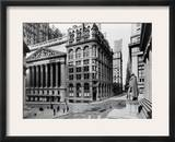Stock Exchange, C1908 Framed Photographic Print by Irving Underhill