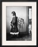 Apache Woman, C1902 Framed Photographic Print by Carl Werntz