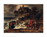 Landscape with MacBeth and the Witches, 1829 Giclee Print by Josef Anton Koch