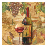 Chianti Abundance - Wine Giclee Print by Gregory Gorham