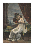 Romeo and Juliet, c. 1895 (woodcut) Giclee Print by Georg Papperitz