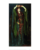 Ellen Terry in the Role of Lady MacBeth Art par John Singer Sargent