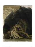 King Lear and the Dead Cordelia Giclee Print by Henry Fuseli