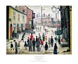 A Procession Kunstdrucke von Laurence Stephen Lowry