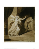 Lady MacBeth as a Sleepwalker Giclee Print by Johann Heinrich Füssli