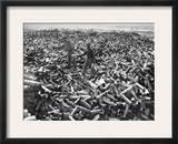 Korean War: Shell Casings Framed Photographic Print