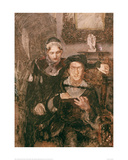Hamlet and Ophelia Giclee Print by Mikhail Alexandrovich Wrubel