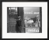 Chicago: Barber Shop, 1941 Framed Photographic Print by Edwin Rosskam