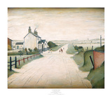 Country Road Print by Laurence Stephen Lowry