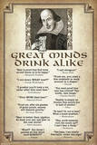 Great Minds Drink Alike Posters