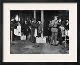 Ellis Island: Examination Framed Photographic Print