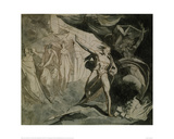 The Witches Show MacBeth Banquo's Children Giclee Print by Johann Heinrich Füssli