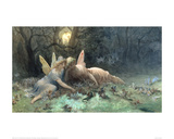 The Fairies (Scene from Shakespeare) Giclee Print by Gustave Doré