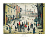 A Procession Poster von Laurence Stephen Lowry