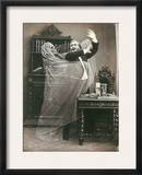 Spirit Photograph, 1863 Framed Photographic Print by E. Thiebault